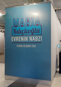 """MARIA KILIÇLIOĞLU RETROSPEKTİF SERGİSİ """"EVRENİN NABZI"""""""